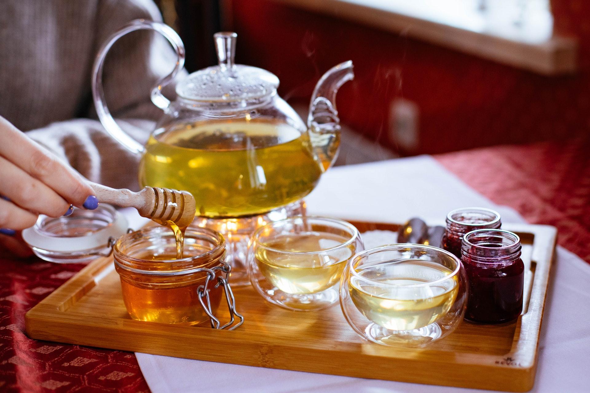 manuka honey tea