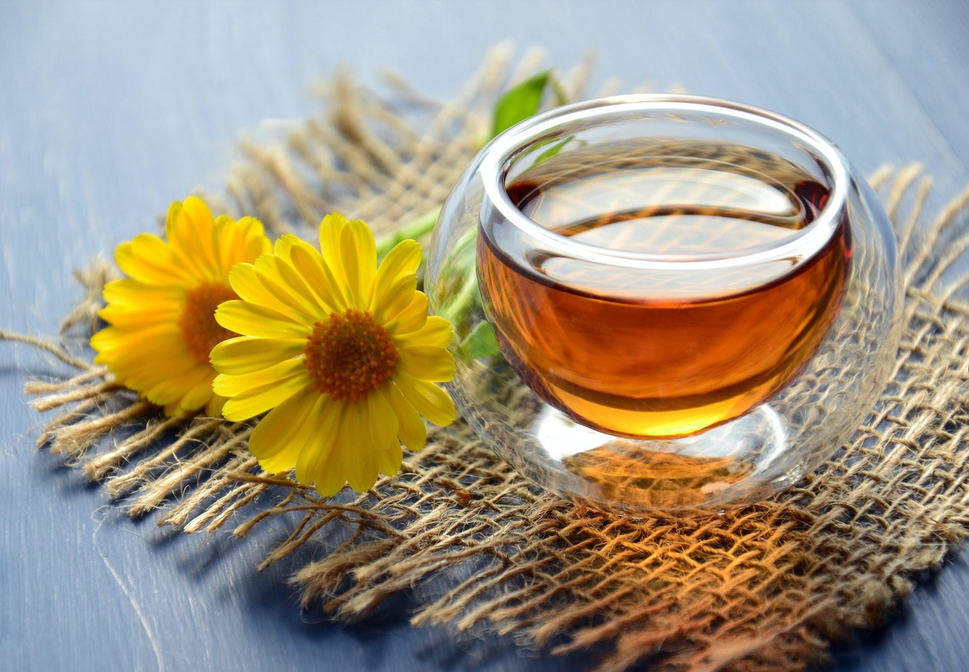 manuka honey on table