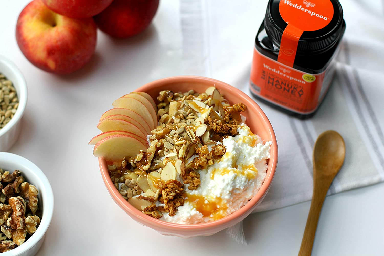wedderspoon manuka honey with cereal